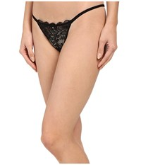 Le Mystere Sophia Lace String Thong Black Women's Underwear