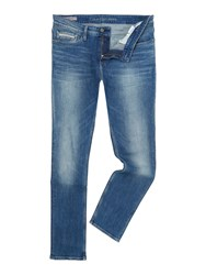 Calvin Klein Beats Blue Slim Fit Straight Jeans