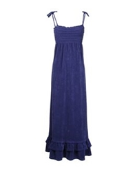 Juicy Couture Long Dresses Purple