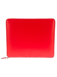 Comme Des Garcons Play Tablet Case Yellow And Orange