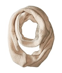 Hat Attack Double Microfur Eternity Wheat Scarves Tan