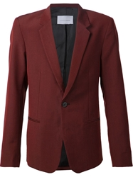 Strateas Carlucci Single Button Blazer