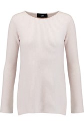 Line Gavin Ribbed Cashmere Sweater Neutral