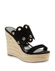 Charles By Charles David Fallon Espadrille Wedges Black