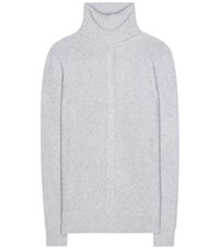 Loro Piana Kimberley Cashmere Turtleneck Sweater Grey