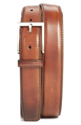 Men's Big And Tall Magnanni 'Catania' Belt Brown