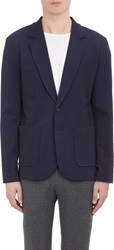 Atm Anthony Thomas Melillo Two Button Sportcoat Blue Size M