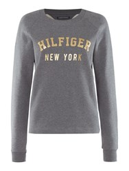 Tommy Hilfiger The Perfect Loungewear Track Top Grey