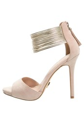 Lipsy Ava High Heeled Sandals Nude
