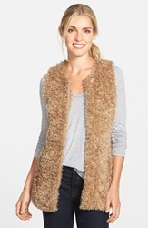 Women's Vince Camuto 'Teddy Bear' Faux Fur Vest