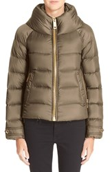 Women's Burberry Brit 'Townfield' Short Goose Down Jacket