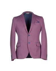Manuel Ritz Suits And Jackets Blazers Men Garnet