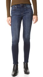 True Religion Jennie Curvy Mid Rise Skinny Jeans Dark Native