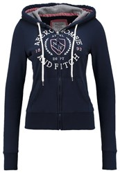 Abercrombie And Fitch Core Tracksuit Top Navy Dark Blue