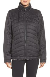 The North Face Women's 'Mossbud Swirl' Water Resistant Jacket Tnf Black Tnf Black Tippd