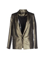 Sessun Suits And Jackets Blazers Women Gold