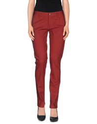 Volcom Trousers Casual Trousers Women Brick Red
