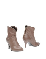 Rosamunda Ankle Boots Lead