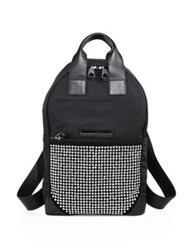 Mcq By Alexander Mcqueen Double Zipper Backpack Black