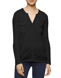 Calvin Klein Jeans Solid Shirt With Cargo Pockets Black