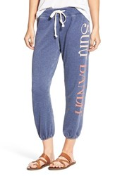 Rip Curl Women's 'Little Bandito' Crop Sweatpants Navy
