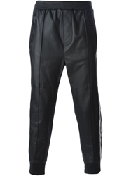 Dsquared2 Cropped Track Trousers Black