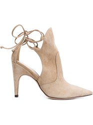 Derek Lam 'Lorraine' Booties Nude And Neutrals