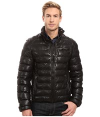 Scully David Very Soft Leather Jacket Black Men's Coat
