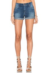Joe's Jeans Laney Collector's Edition Hello The Rolled Short Dark Blue