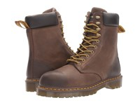 Dr. Martens Work Rufford Electrical Hazard Steel Toe 10 Tie Boot Dark Brown Wyoming Men's Lace Up Boots