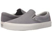Vans Classic Slip On Braided Suede Wild Dove Skate Shoes Braided Suede Wild Dove