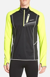 Craft 'Brilliant Thermal' Running Jacket Black Flumino