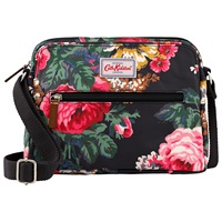Cath Kidston Bloomsbury Bouquet Busy Bag Black