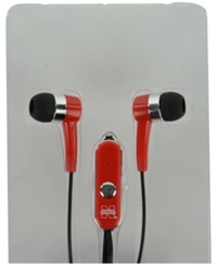 Mizco Nebraska Cornhuskers Earbuds Team Color