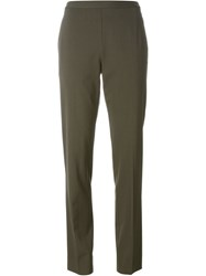 Maison Martin Margiela Maison Margiela High Waisted Trousers Green