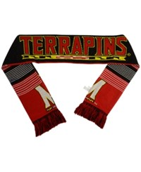 Forever Collectibles Maryland Terrapins Reversible Split Logo Scarf Red
