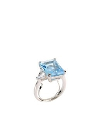 Cz By Kenneth Jay Lane Rings Blue