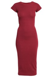 Zalando Essentials Maxi Dress Bordeaux