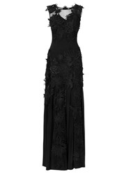 Phase Eight Collection 8 Adora Full Length Dress Black