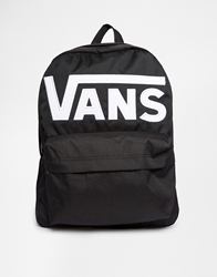 Old Skool Ii Logo Backpack Blackwhite