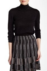 Nic Zoe Everyday Turtleneck Sweater Gray
