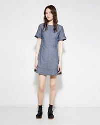 Proenza Schouler Flared Chambray Dress