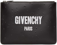 Givenchy Black Logo Pouch