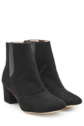 Repetto Suede Ankle Boots Black