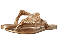Jack Rogers Miss Georgica Jelly Little Kid Big Kid Gold Women's Sandals