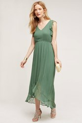 Hd In Paris Sidra Chiffon Dress Green