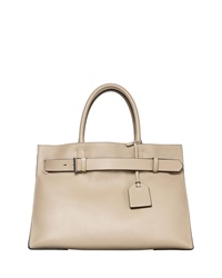 Reed Krakoff Rk40l Large Belted Leather Tote Bag Tan