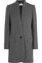 Stella Mccartney Bryce Wool Blend Coat Anthracite