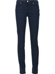 Versace Collection Skinny Jeans Blue