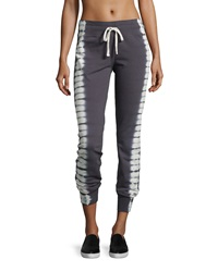 Marc Ny Performance Tie Dye Slim Leg Sweatpants Charcoal